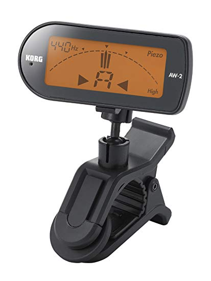 Korg AW2G Clip-On Chromatic Guitar Tuner