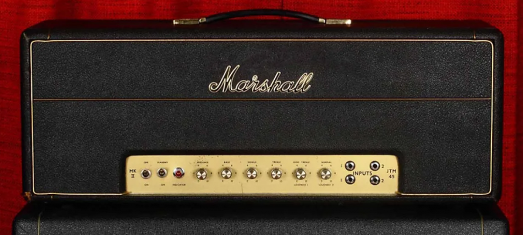 Marshall Plexi 1966 100W Super Lead amp
